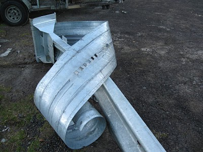 Highway Guardrail End Caps   Daily Edification